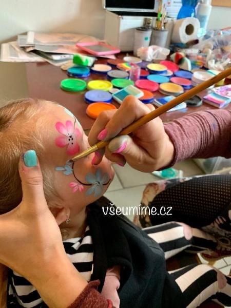 Facepainting- malování na obličej